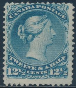 CANADA #28 F-VF UNUSED CV $1,250 BU2248