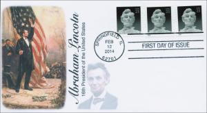 SC 4860, 2014 Abraham Lincoln, FDC, Item 14-029