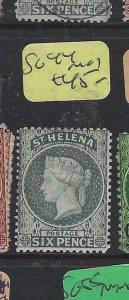 ST HELENA  (P0105B)  QV  6D     SG  44  MOG