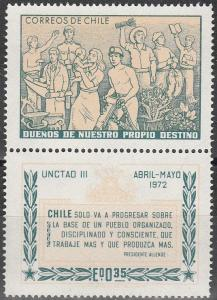 Chile #418 MNH (K1812L)
