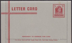 LM32) 1965 Lettercard QEII facing right.