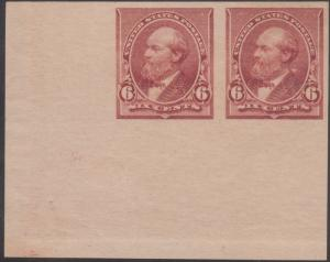 #224a SPECTACULAR CORNER MARGIN PAIR! HV781