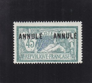France: Instruction Tax Stamp, Maury #31, MH (39038)