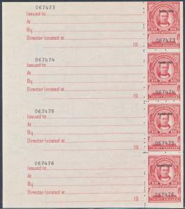 #R679a NH USIR $30.00 DOCUMENTARY STAMP BP8305