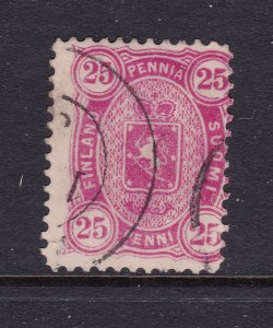 Finland an 1875 good used 25p
