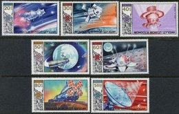 Mongolia space 1985 Mi 1730-1736 GAGARIN (25 YEARS)