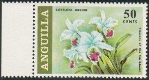 Anguilla 1969 MNH Sc #73 50c Cattleta Orchid Flowers