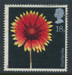 Great Britain SG 1347 -  Used - Flowers