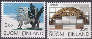 Finland #908-9 MNH  CV $3.30  (Z3092)