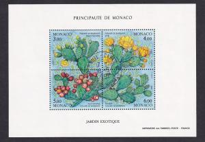 Monaco  #1804   cancelled  1992   sheet life cycle of cactus plant