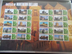 2009 Castles of Northern Ireland Smiler Sheet LS58 Cat £24 - At A Great Price!
