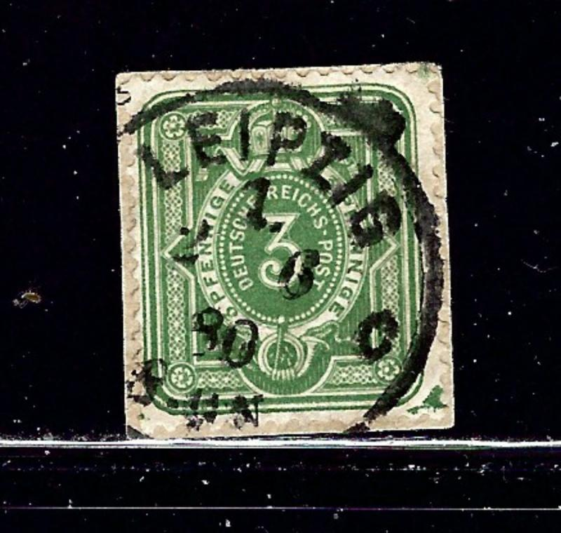 Germany 29 Used 1875 issue on paper