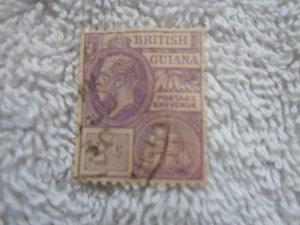 british guiana stamp HR # 4