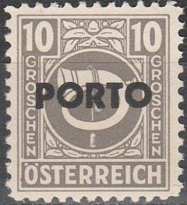 Austria #J193  MNH