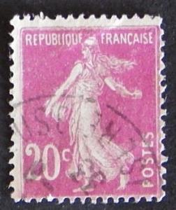 France, Sower, 1925 -1926, New Values, SC: 167, YT: 190, (1005-T)