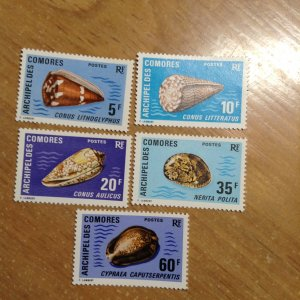Comoro Islands  # 99-103  MNH