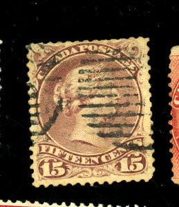 CANADA #29B USED FINE SM FAULTS Cat $125