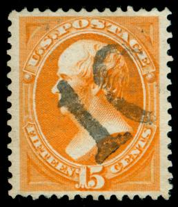 MOMEN: US STAMPS #152 USED VF/XF PF CERT