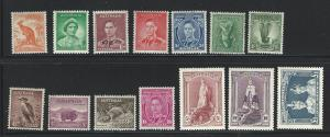 Australia  mh s.c.# 166 - 179