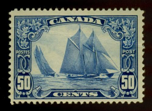 Canada #158 MINT F-VF OG HR Creased Cat$225