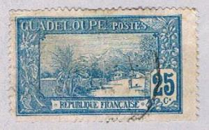 Guadeloupe 65 Used La Soufriere 1905 (BP30221)