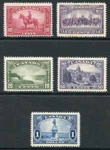 Canada SG347/51 1935 KGV High Values Set P12 M/M