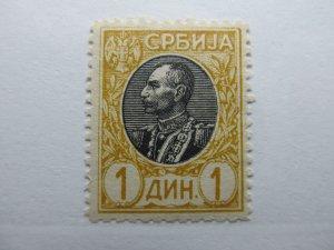 Serbien Serbia 1905-11 1d Perf 11½ Fine MNG A5P18F374
