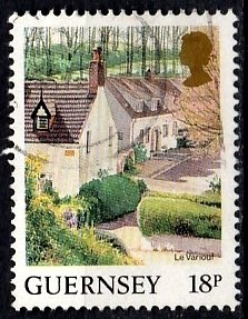 Guernsey 1984 SG. 309d used (10805)