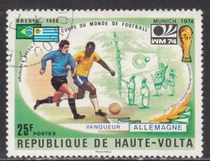 Burkina Faso 336 World Cup Soccer 1974