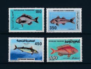 [48246] Tunisia 1991 Marine life Fish MNH