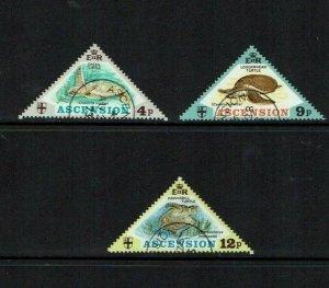 Ascension Island: 1973, Turtles, Fine Used set