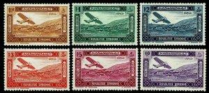 1937 Syria #C57-62 Airmail - Unused NG - VF - CV$45.50 (ESP#4171)