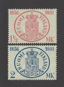 Finland Scott 182-183 Mint Never Hinged