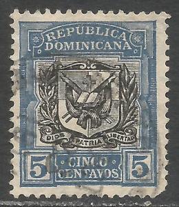 DOMINICAN REPUBLIC 175 VFU ARMS I136-3