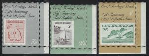 Cocos Islands 1988 First Stamps set Sc# 177-82 NH