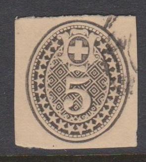 Switzerland Early Postcard Corner Used