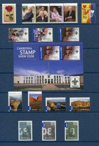Australia 2008 Commemorative Year Set Scott 2771/3001 NH UMM
