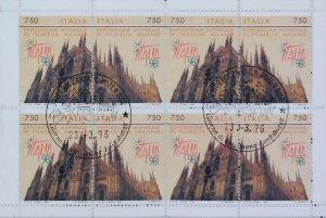 2001 Esposizione di Filatelia Libretto Usato Annullo FDC Used Booklet 14810