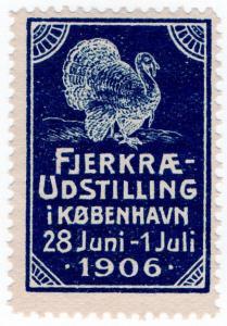 (I.B) Denmark Cinderella : Poultry Exhibition (Copenhagen 1906)