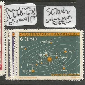 Paraguay SC 728-32 Solar System MOG (9cyi)
