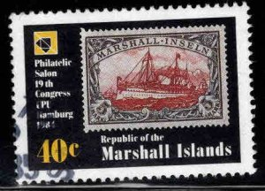 Marshall Islands Scott 53 Used stamp on stamp, stamp