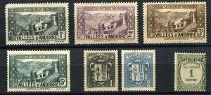 ANDORRA French Administration Stamps Postage Collection Europe Mint LH