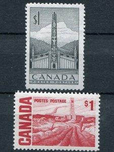 Canada #321 and #465b  VF NH - Lakeshore Philatelics