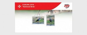 Malta stamps 2019.Europa 2019 - National Birds - Presentation Pack