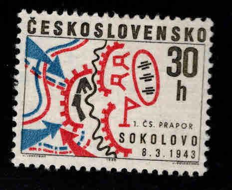 Czechoslovakia Scott 1522 MH* stamp