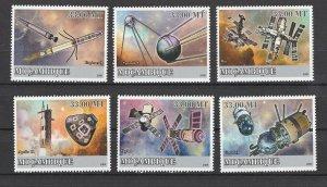 Mozambique MNH Set Space Probs 2009