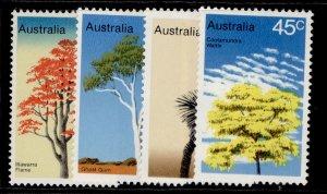 AUSTRALIA QEII SG664-667, 1978 trees set, NH MINT.