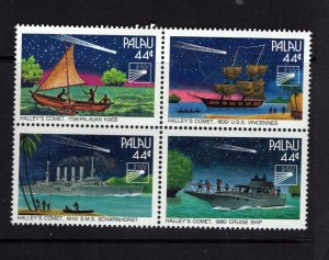 Palau  #281 (1985 Halley's Comet) VFMNH CV $4.00