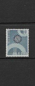 SWITZERLAND - EUROPA 1967 - SCOTT 482 - MNH