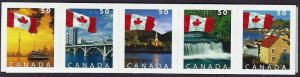 Canada 2005 , FLAG MNH STRIP # 2080aiii
